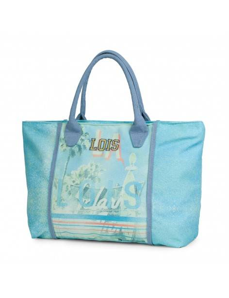 Lois Azul Miami Bolso Playa Color CBdorexW